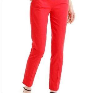 J. Crew Pants & Jumpsuits - Jcrew Red Martie Pant Size: 4